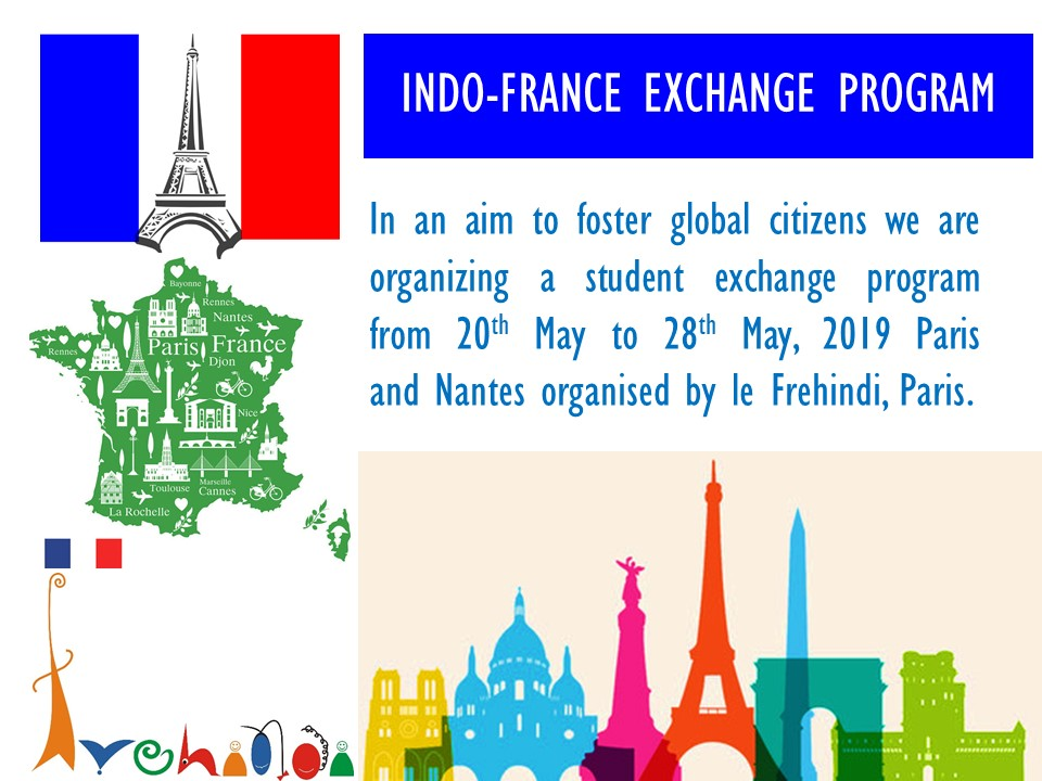 Upcoming Event - France Visit